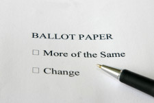 change or don't change ballot