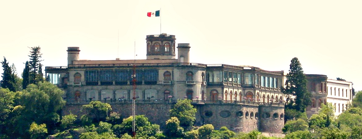This is the palace of the only emperor to be crowned in the Americas.